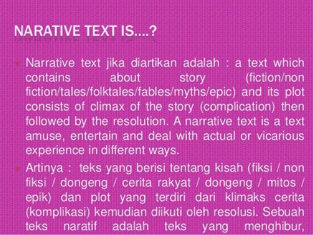 Narrative text Slide 2