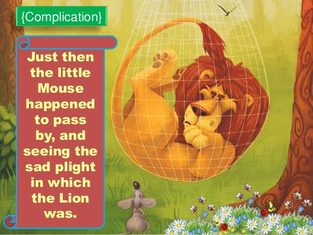 The Lion and The Mouse story