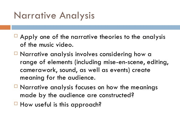 an analysis of the narrative of Narrative techniques are the methods that authors use to tell their stories when analyzing a novel, it is important to identify these techniques in order to shed light on the ways in which they function in the story although there are far too many types of narrative techniques to cover in a single article, there are.