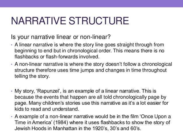 nonlinear short story examples pdf