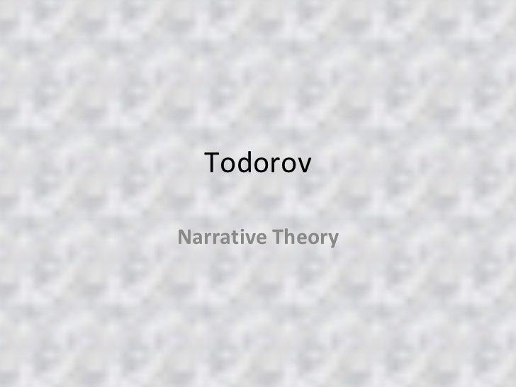 Todorov Narrative Theory