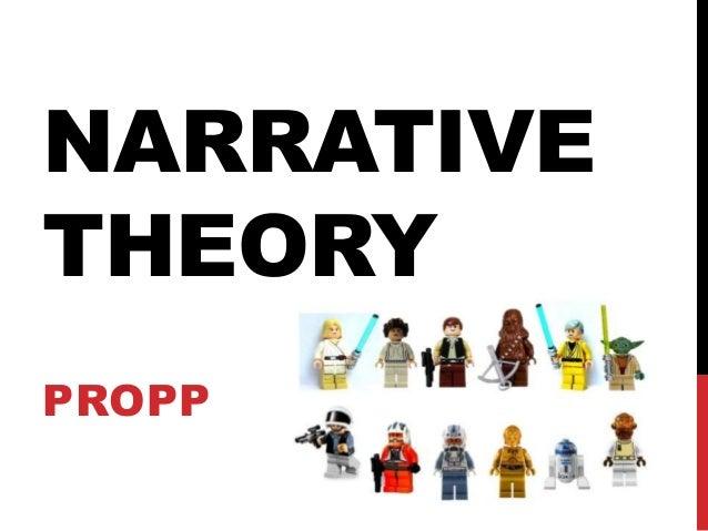 NARRATIVE THEORY PROPP