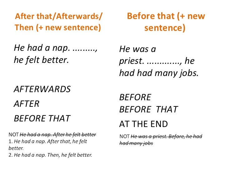 linking words with examples pdf