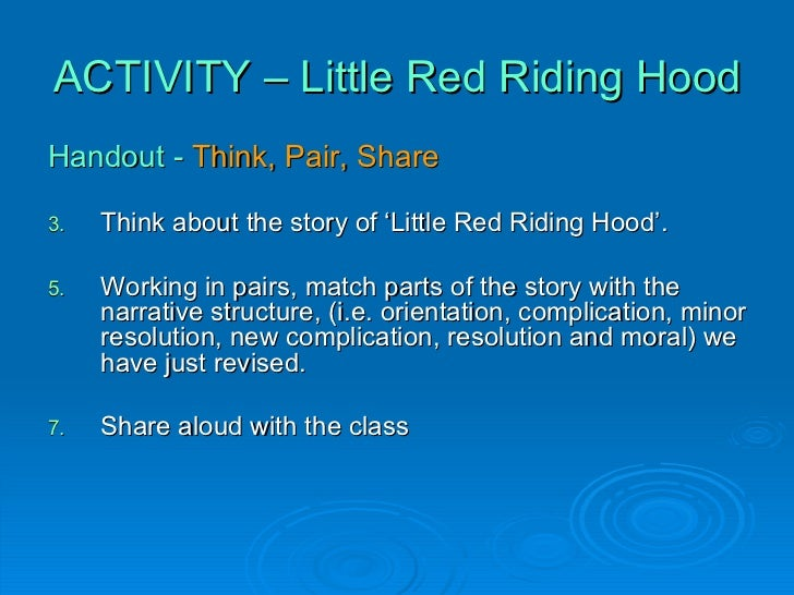moral of red riding hood