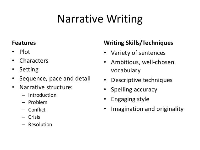 narrative writing style How to write a narrative essay narrative essays are commonly assigned pieces of writing at different.