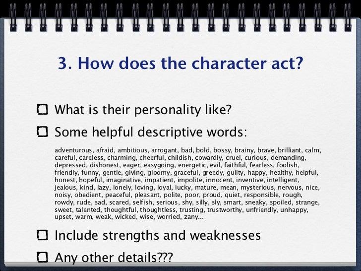 descriptive personality