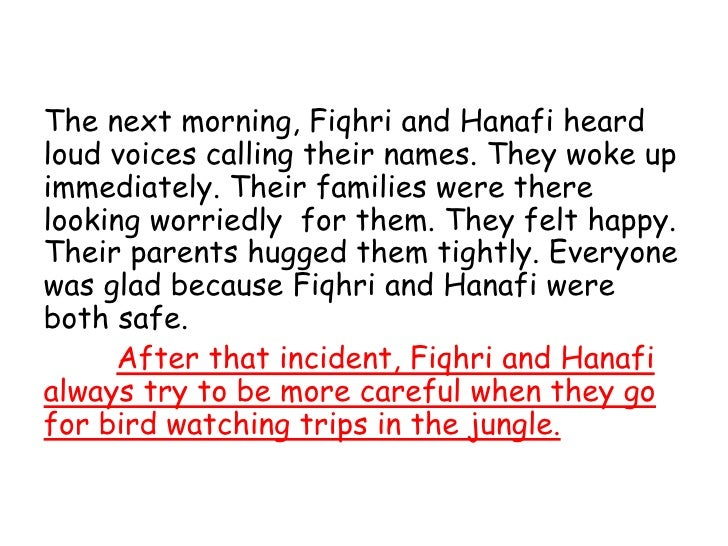 narrative essay lost in the jungle