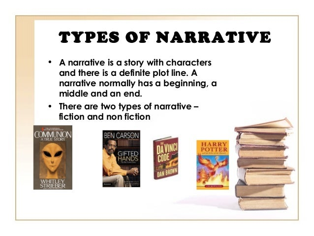 narrative form of writing Learn about the characteristics of a narrative, an account of a sequence of events usually presented in chronological order.