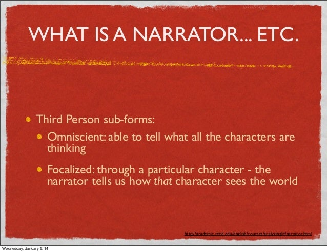 how to introduce a character in third person