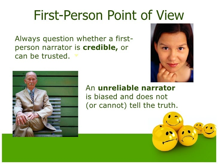 a first person narrator is always Click here 👆 to get an answer to your question ️ instructions:select all the correct answers which two statements about first-person  the narrator always.