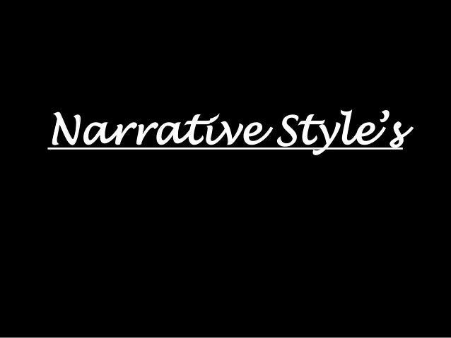Narrative Style's