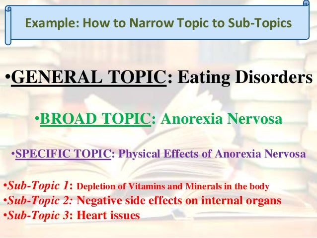 eating disorder essay thesis Eating disorders: dsm-v essay  eating disorder diagnoses are snapshots in the course of an eating disorder  pages: 2 (580 words) | type: thesis.