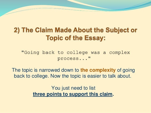 qualify thesis statements The oral qualifying exam is generally designed to assess a graduate student's   original research resulting in a thesis or dissertation  prepared statement.