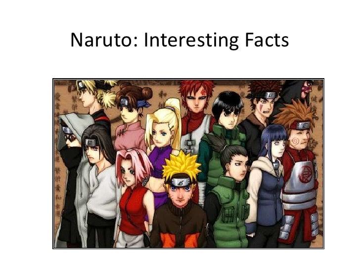 Naruto: Interesting Facts