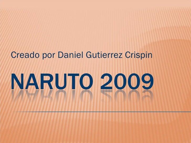 Creado por Daniel Gutierrez Crispin