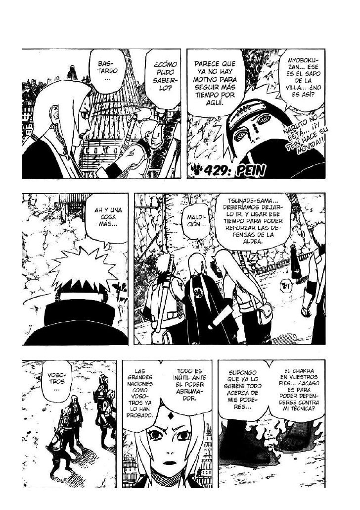 Naruto Manga 429 Sub Esp