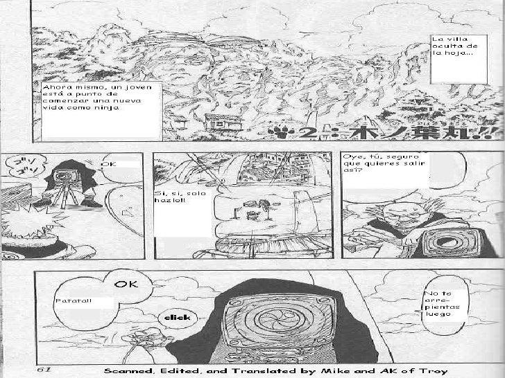 Naruto tomo 1 capitulo 2