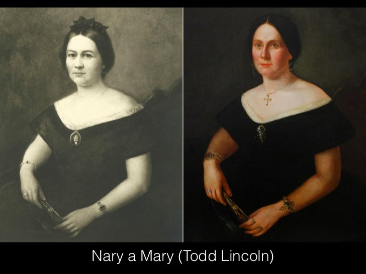 Nary a Mary (Todd Lincoln)