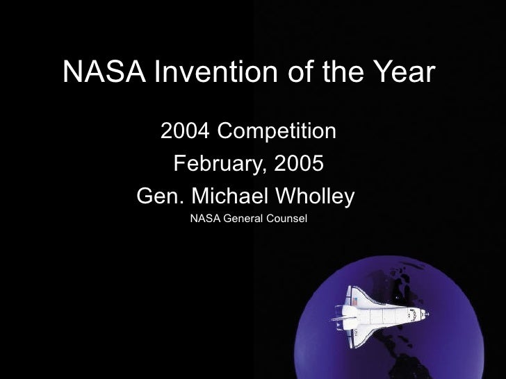 Nasa 2004 Invention Of The Year