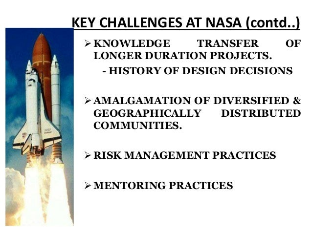 nasa knowledge management case studies 2018-04-26 office of the chief knowledge officer, jet propulsion  senior jpl management has expressed an interest in the development of case studies based on jpl  nasa case studies nasa has published several catalogs of case.