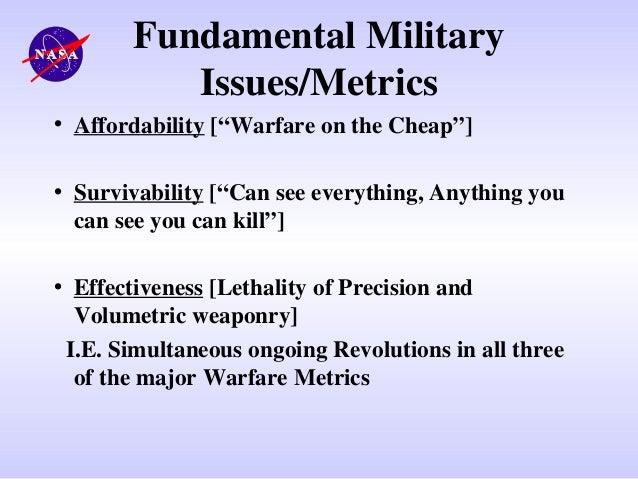 Future Strategic Issues/Future Warfare [Circa 2025]