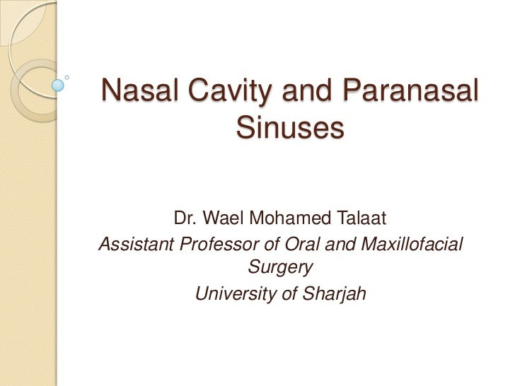 how to clear nasal cavity