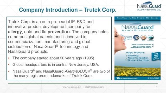 NasalGuard Global Presence USA - Nasal Congestion Allergy Relief Slide 2