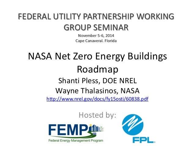 NASA Net Zero Roadmap: Federal Utilities Partnership ...