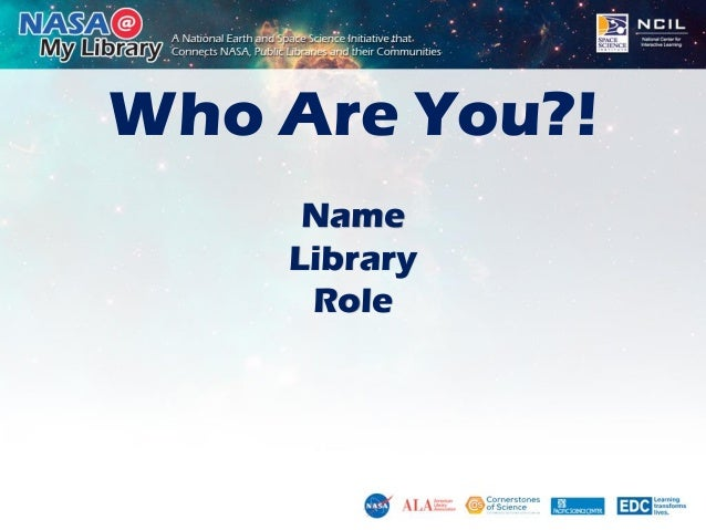 NASA STEM Workshop - New Mexico Slide 3