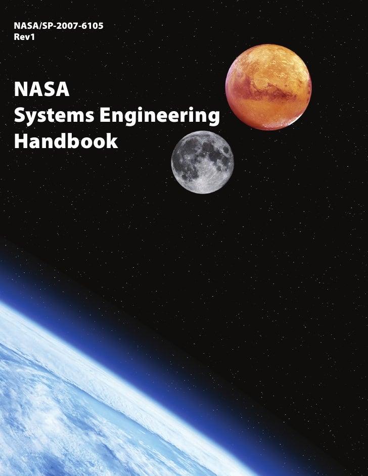 NASA/SP-2007-6105Rev1NASASystems EngineeringHandbook