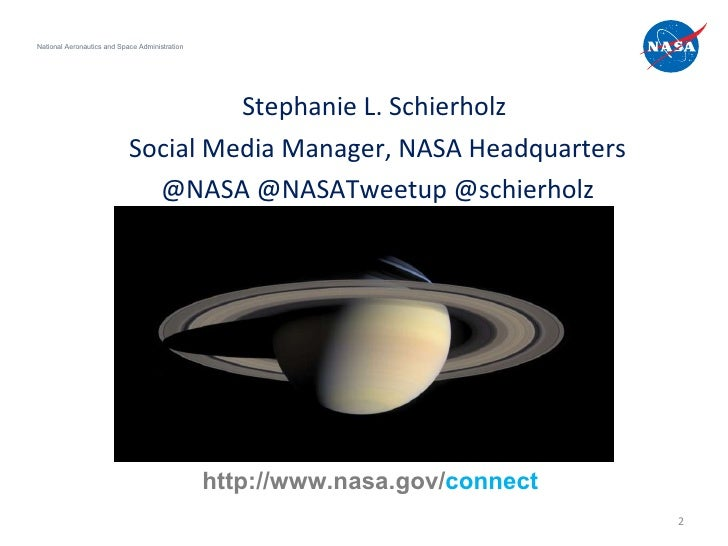 How to host a tweetup: Lessons from #NASATweetup Slide 2