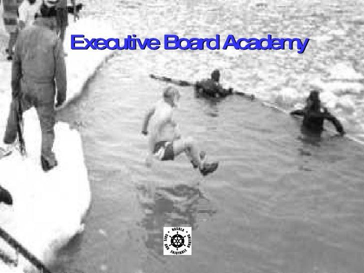 Executive Board Academy