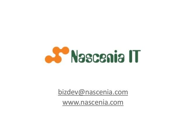 bizdev@nascenia.com www.nascenia.com