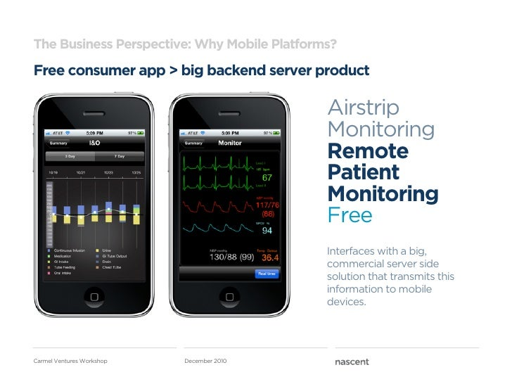 The Business Perspective: Why Mobile Platforms?Free consumer app > big backend server product                             ...