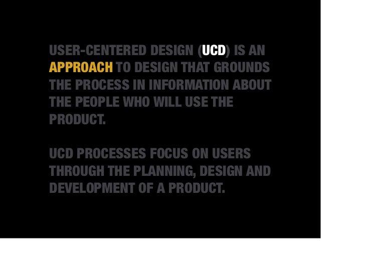 WHY UCD?