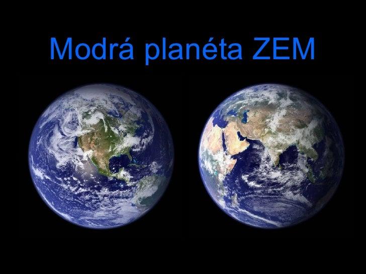 Modrá planéta ZEM
