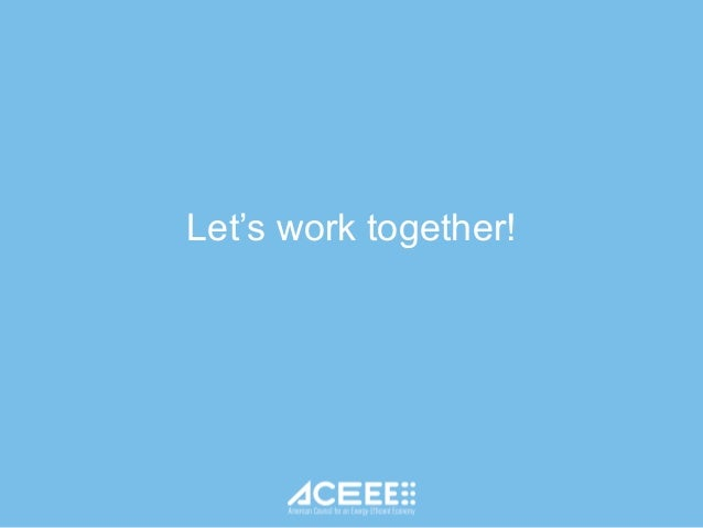 ACEEE Support for State Energy Offices