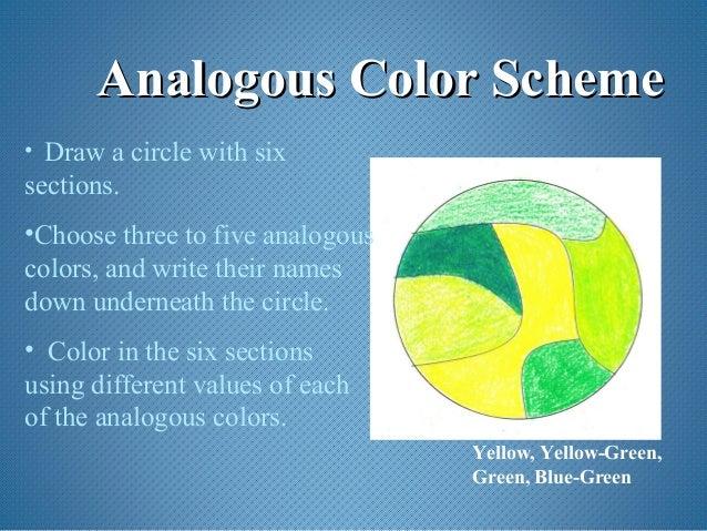 Analogous Color SchemeAnalogous Scheme O Draw