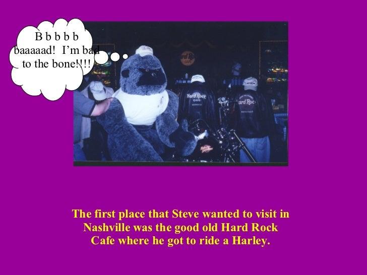 Steve Goes to Nashville Slide 2