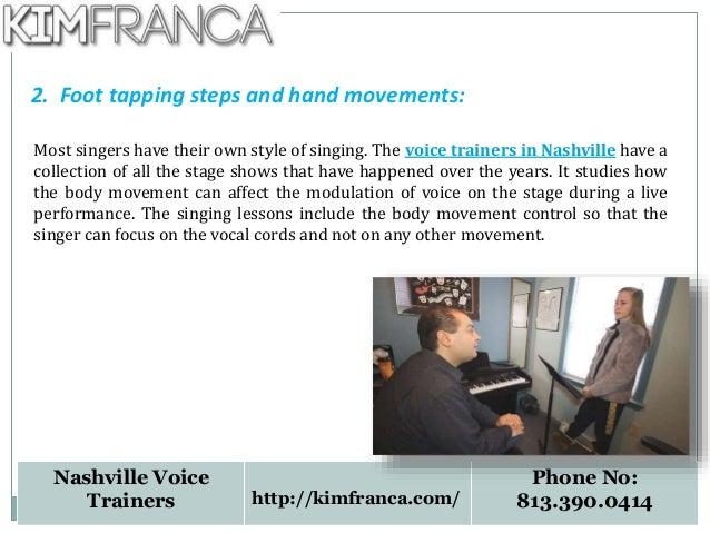Nashville vocal trainers