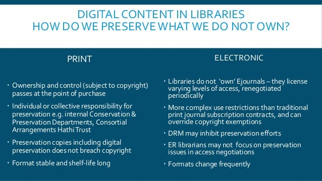 Where do we keep that? The new Keepers Registry and the digital content in your collection Slide 3
