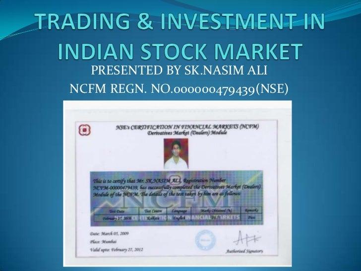 PRESENTED BY SK.NASIM ALINCFM REGN. NO.000000479439(NSE)