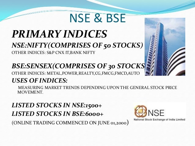 Trading & investment in indian stock market