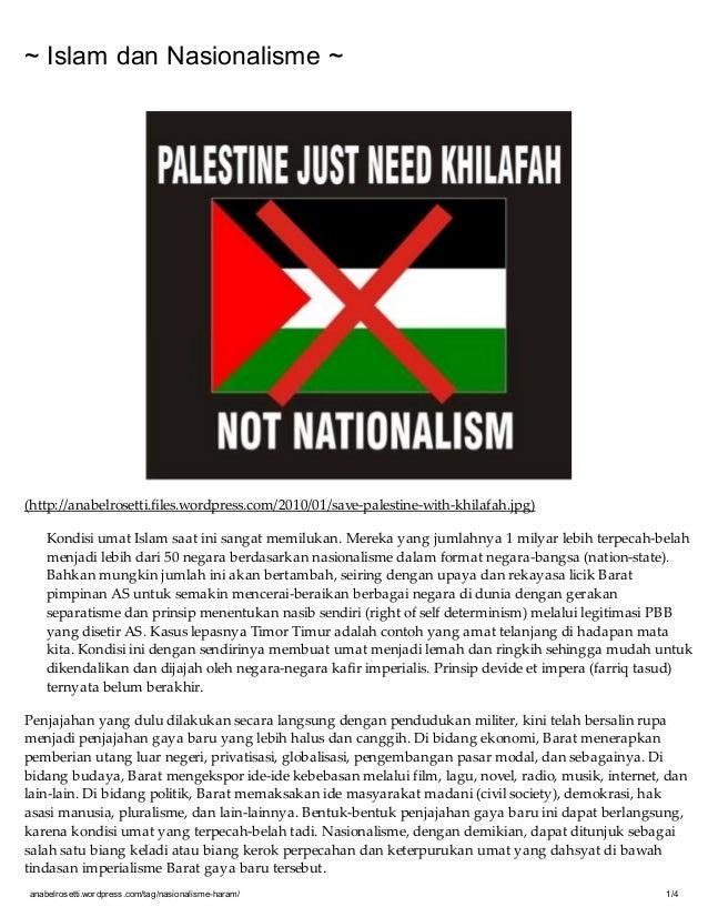 anabelrosetti.wordpress.com/tag/nasionalisme-haram/ 1/4~ Islam dan Nasionalisme ~(http://anabelrosetti.files.wordpress.com...