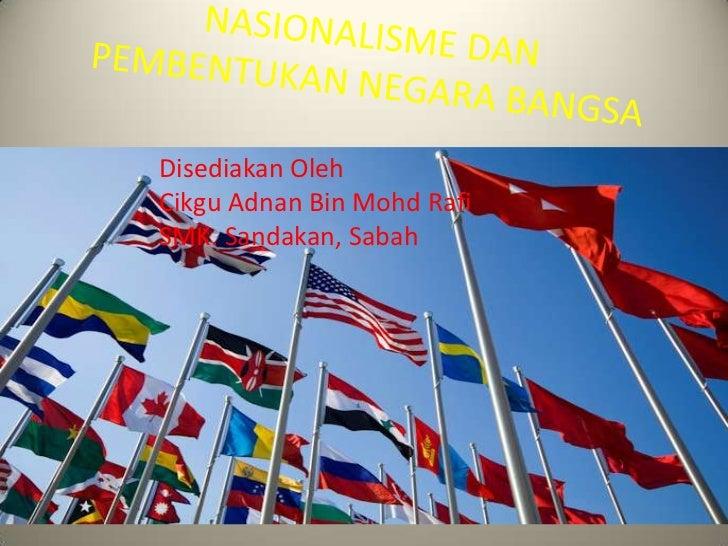 Disediakan OlehCikgu Adnan Bin Mohd RafiSMK. Sandakan, Sabah