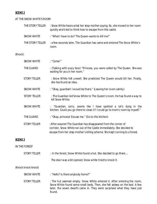 Naskah Drama Snow White