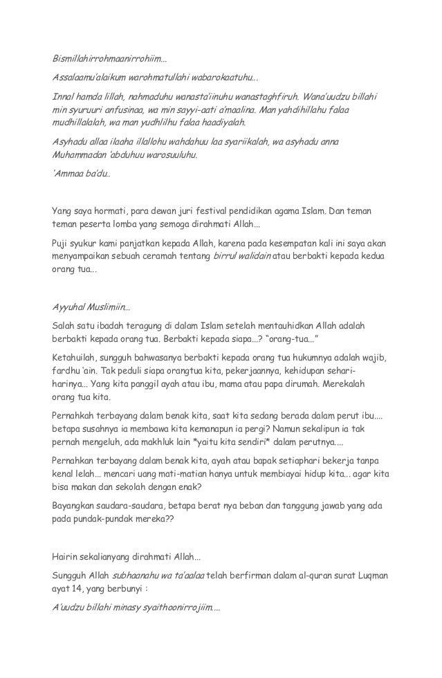 Contoh Teks Ceramah Agama Islam Bahasa Sunda Indonesia Growstrongwindy