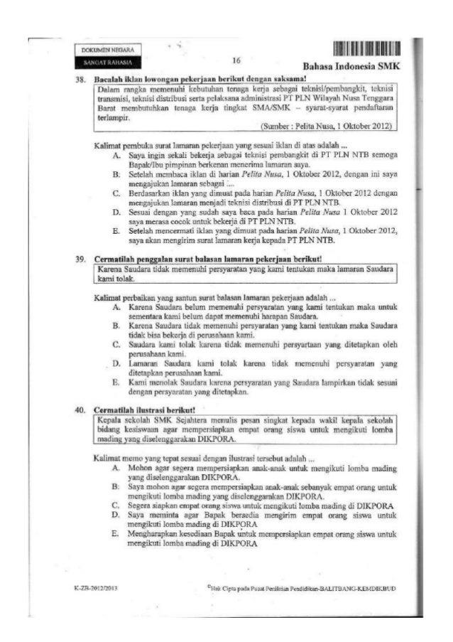Paket Bahasa Indo Halaman 153 Smk