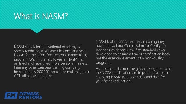 NASM Certification- A Review of Costs, Programs, Salary, How to Get Y…