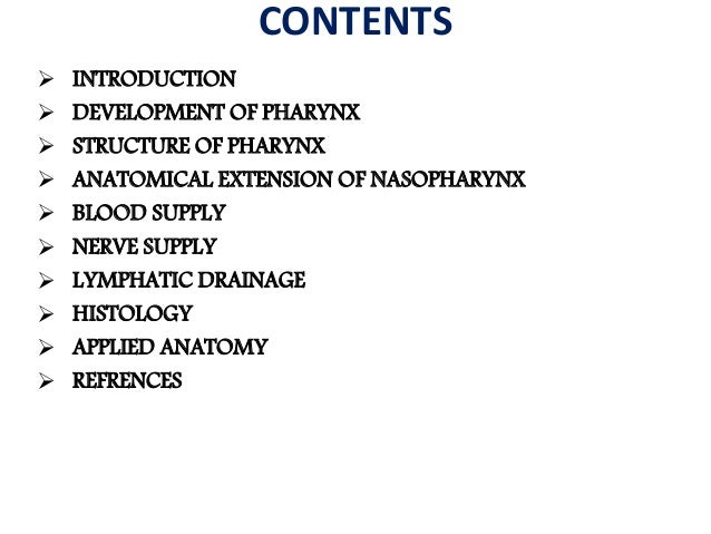 Nasopharynx  gross anatomy and applied anatomy in dental and medical aspects Slide 2